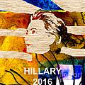 Hillary Clinton 2016 by Marvin Blaine