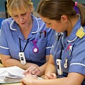 Hospital Nurses by Life In View/science Photo Library
