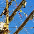 I Thought I Saw Three Sailing Ships Three Sailing Ships Early In The Morn N by Michael Hoard