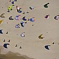 Kitesurfing, Tel Aviv by Ofir Ben Tov