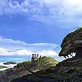 Landscape by Raphael  Sanzio