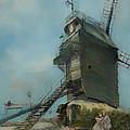 Le Moulin De La Galette by Mountain Dreams