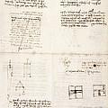Leonardo Da Vinci's Notes by British Library