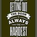 Life Motivating Quotes Poster by Lab No 4 - The Quotography Department
