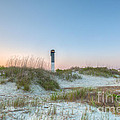 Sullivan's Island Dunes To Lighthouse View by Dale Powell