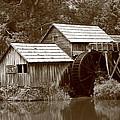 Mabry Mill - Blue Ridge Mountains by Frank Romeo