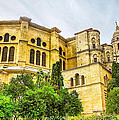 Malaga Cathedral In Andalusia by Dragomir Nikolov