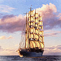 4 Mast Barque by Dean Wittle