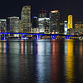 Miami Downtown Skyline by Raul Rodriguez
