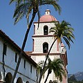 Old Mission Santa Barbara by Christiane Schulze Art And Photography