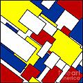 Mondrian Rectangles by Celestial Images