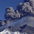 Mt Ruapehu 1996 Eruption New Zealand by Tui De Roy