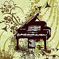 Musical Backgrounds With Instraments by ClipartDesign
