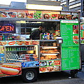 New York Street Vendor by Frank Romeo