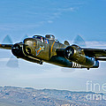 North American B-25g Mitchell Bomber by Scott Germain