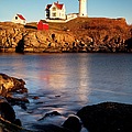 Nubble Lighthouse by Brian Jannsen