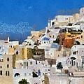 Oia Town by George Atsametakis