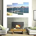 4-panel - Lake Powell Marina by Gordon Elwell