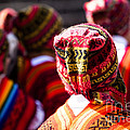 Peruvian Dancers At The Parade In Cusco by Mariusz Prusaczyk