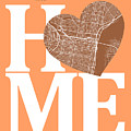 Philadelphia Street Map Home Heart - Philadelphia Pennsylvania R by Jurq Studio