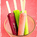 Popsicles Ice Cream Frozen Treat by Edward Fielding