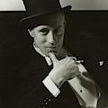 Portrait Of Leslie Howard by Edward Steichen