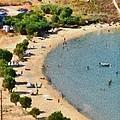 Psili Ammos Beach In Serifos Island by George Atsametakis