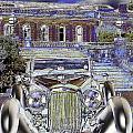 Psychedelic Classic Lagonda by Peter Lloyd