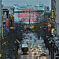 Public Market Center In Seattle by Hisao Mogi