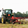 Raking Hay by J McCombie