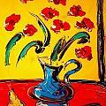 Red Poppies by Mark Kazav