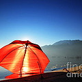 Red Umbrella by Mats Silvan
