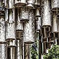 Sibelius Pipe Monument - Helsinki Finland by Jon Berghoff