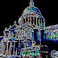 St Pauls Cathedral London Art by David Pyatt
