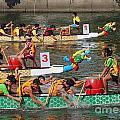 The 2013 Dragon Boat Festival In Kaohsiung Taiwan by Yali Shi