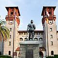 The Lightner Museum Formerly The Hotel Alcazar St. Augustine Florida by Dawna Moore Photography