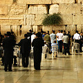 Praying At The Western Wall by Doc Braham