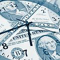 Time Is Money Concept by Les Cunliffe
