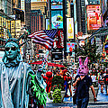 Times Square On A Tuesday by Lee Dos Santos