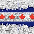 Toronto Skyline by Les Palenik