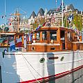 Victoria Wooden Boat Show by Carol Ailles