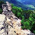 View From Atop Seneca Rocks by Thomas R Fletcher