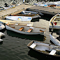 View Of Boats At A Harbor, Rockland by Panoramic Images