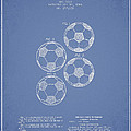 Vintage Soccer Ball Patent Drawing From 1964 by Aged Pixel
