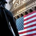 Wall Street Flag by Brian Jannsen