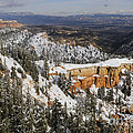 Winter Scene, Bryce Canyon National Park by John Shaw