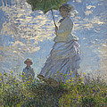 Woman With A Parasol by Mountain Dreams