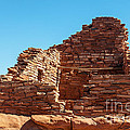 Wupatki Pueblo In Wupatki National Monument by Fred Stearns