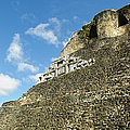 Xunantunich Belize Mayan Temple  by Brandon Bourdages