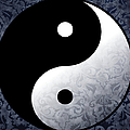 Yin And Yang 2 by Roz Abellera